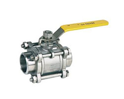 Hastelloy Three Piece Ball Valves Supplier, stockist, Manufacturer and Exporter in Mumbai Maharashtra India
